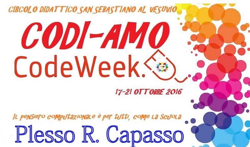 CODI-AMO CAPASSO partecipazione alla settimana del CODEWEEK